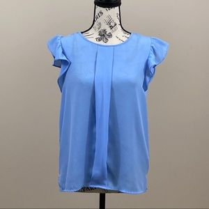 Forever 21 Blouse Blue Size Small